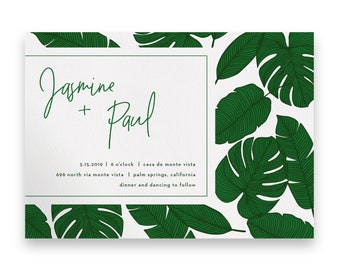 Greenery Wedding Invitation/Greenery Wedding Invitation Suite/Wedding Invites/Invitation Suites/Garden Wedding/Garden Invitations