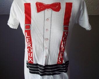 Vintage Short Sleeve Leroux Schnapps T Shirt by Screen Stars Best
