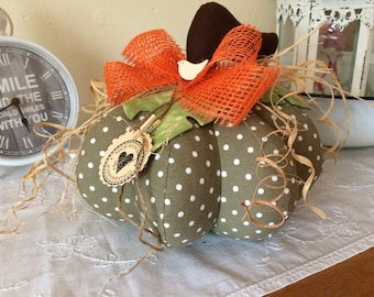 Great fabric Pumpkin ,Halloween, Autumn