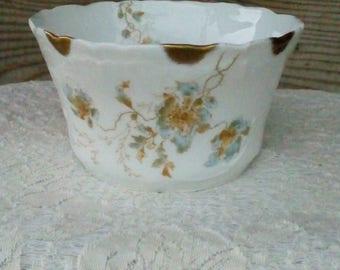 Antique Springer & Co Elbogen Mignon Sugar Bowl