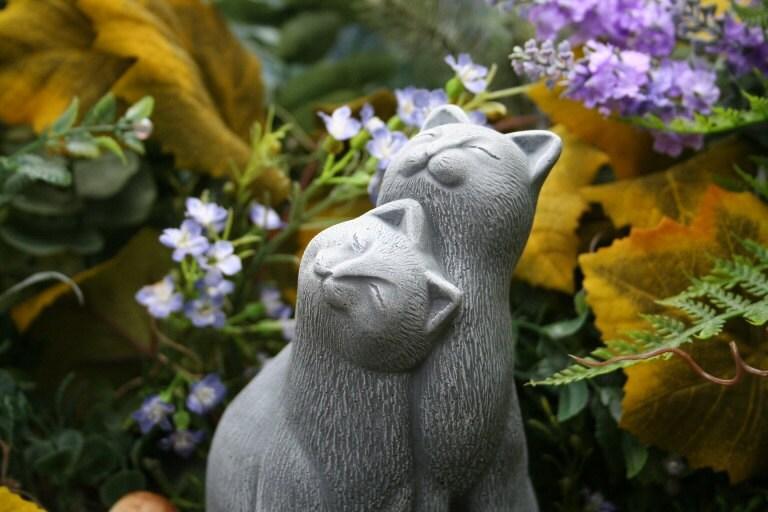 cat garden statue. 🔎zoom Cat Garden Statue T