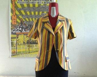 Vintage Short Sleeves Jacket