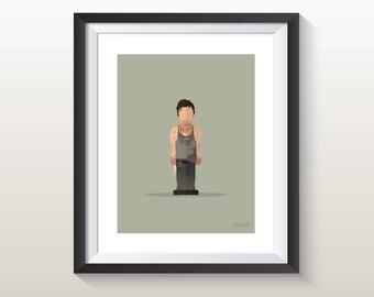 Featureless Portrait - TWD Daryl Dixon