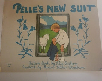 Pelles New Suit By Elsa Beskow 1st Printing USA