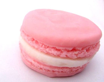 French Macaroon Soap - Cream filled