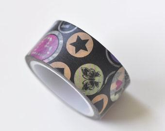 Star Butterfly Cartoon Washi Tape Japanese Masking Tape 20mm x 5M No.13309