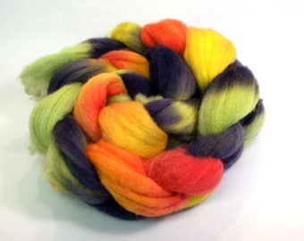 SW BFL combed wool top Spinning Fiber: Beach Towel 4oz