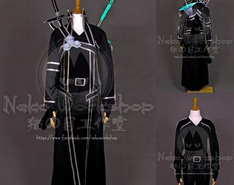 Sword Art Online - Kirito Cosplay Costume