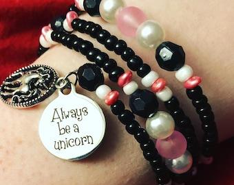 Always Be A Unicorn Bracelet