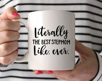 Stepmom Gift Stepmom Birthday Gift Funny Stepmom Gift Mug Stepmother Gift Step Mom Gift Birthday Gift for Stepmom Gift for Stepmother Mug