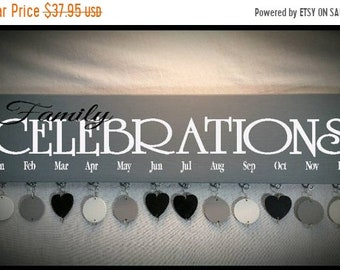 25% Off 4/18/18-4/25/18 Family Birthday Board, Personalized Gifts, Personalized Gift Ideas, Anniversary Gifts, Mothers Day Gift, Housewarmin