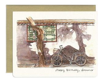 Beijing Dreamer Birthday Card