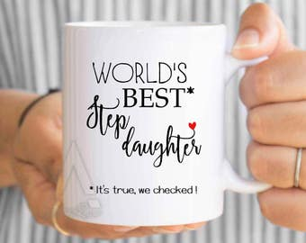 Gift For Step Daughter, Step Daughter wedding, Step Daughter Mug, Step Daughter Birthday, Father Step Daughter, Mother Step Daughter MU567