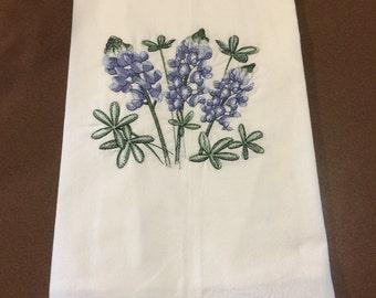 Kitchen towel - Bluebonnets