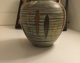 Dee Cee European Art Pottery Vase Model 1088/15