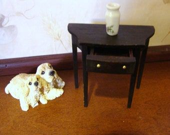 Side Table for a miniature dollhouse 1 inch scale.  Duncan Fife style?