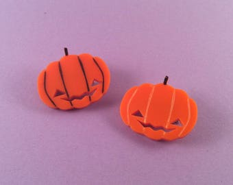 Pumpkin badges