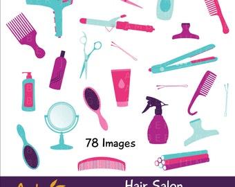 haircut clipart etsy rh etsy com black hair stylist clipart hair stylist tools clipart