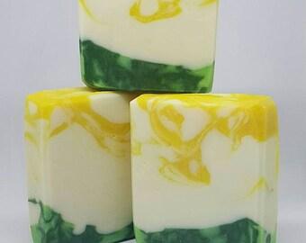 Pina Colada Handcrafted Soap