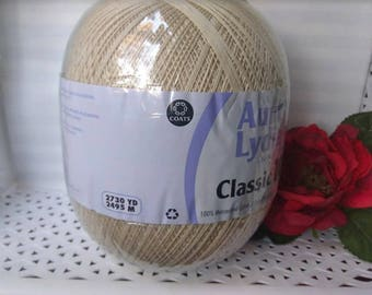 Aunt Lydia's Classic Cotton Crochet Thread Size 10 Natural  2730 yd.