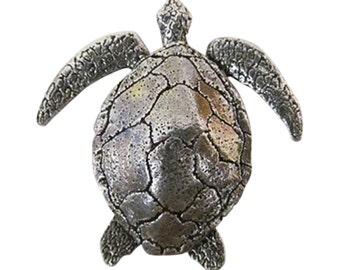 Premium Sea Turtle ~ Lapel Pin/Brooch ~ A158PR,AC158PR,AP158PR