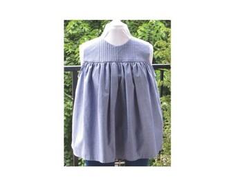 Medium Betty's Bay Tunic Top PDF Sewing Pattern UK 12-14 US 8-10