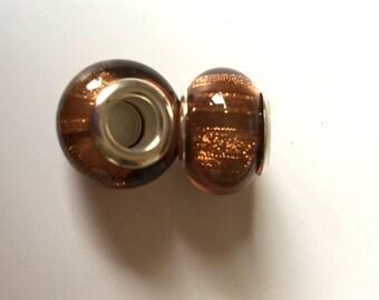 Perle Marron glitter