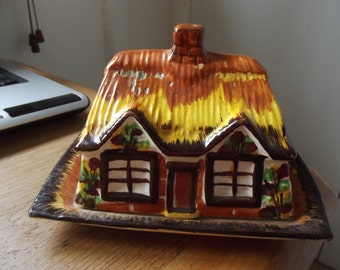 Price Kensington cottageware butter/cheese dish 1960s