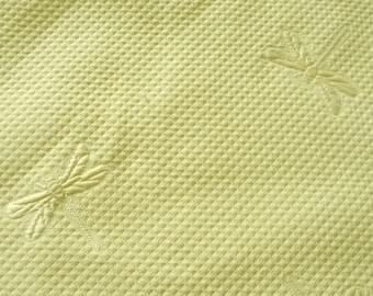 Very nice yellow bee and Dragonfly fabric