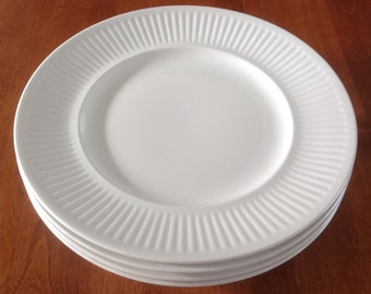 "Two (2) Johnson Bros ATHENA 10"" Ironstone Dinner Plates"