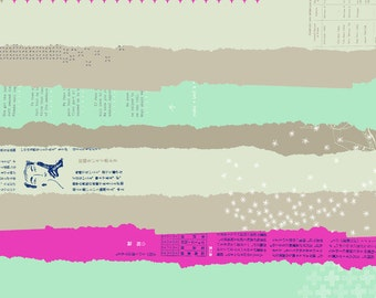 Ephemera Double Gauze in Neutral From Bespoke By Cotton + Steel Collaborative