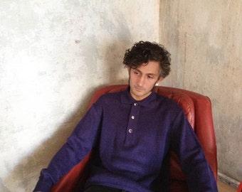 Vintage linen pullover