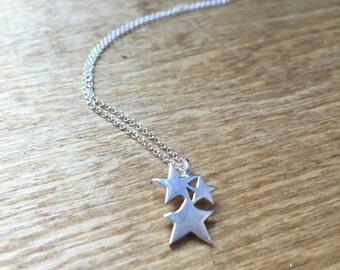 The Starlight Pendant in Sterling Silver