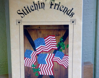 Our American Symbol Quilt Pattern American Flag by Stitchin' Friends
