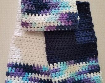 Crochet dishrags (set of 3)