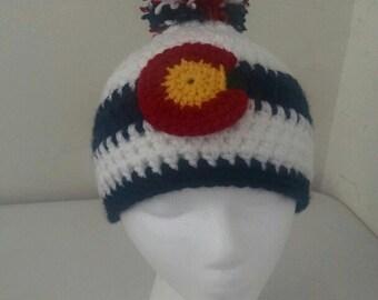 Colorado Flag Hats