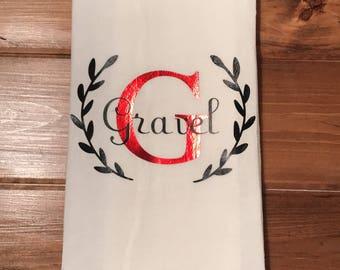 Custom dish towels