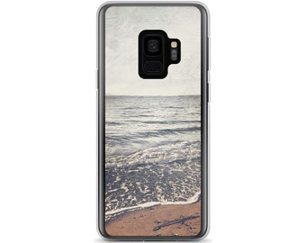 Soft Pastel Beach Photo Phone Case For Samsung Galaxy, Nature Case For Galaxy S7, Edge, Galaxy S8, S8 +, S9, S9+, Gift For Her, Gift For Him