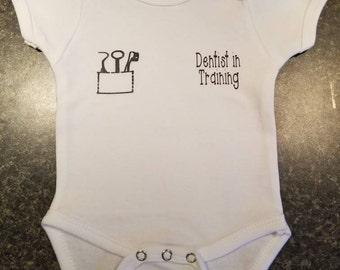 Dentist in Training (Onesie/Tee)