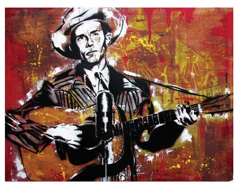 Hank Williams Senior - Ramblin ' Man - 18 x 12 hochwertigen Kunstdruck
