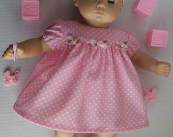 AG Bitty Baby Dressy Dress, shoes and HeadbandbSet