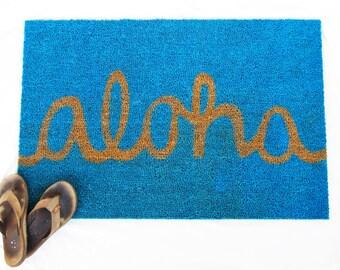 aloha door mat
