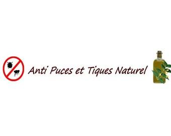 Anti fleas & ticks 100% natural recipe
