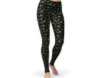 Colored Clovers Leggings