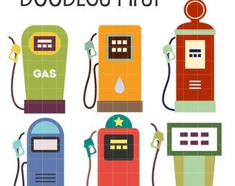 gas clipart etsy rh etsy com gas station clipart free gas pump clipart cartoon