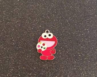 Sesame Street Elmo charm