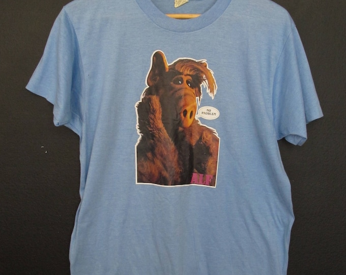 Alf No Problem 1980 vintage Tshirt