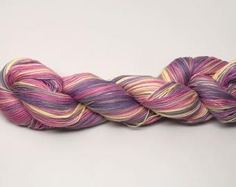 Cotton Yarn Yellow, amethyst, violet