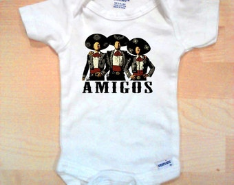 Three Amigos Movie Baby Onesie
