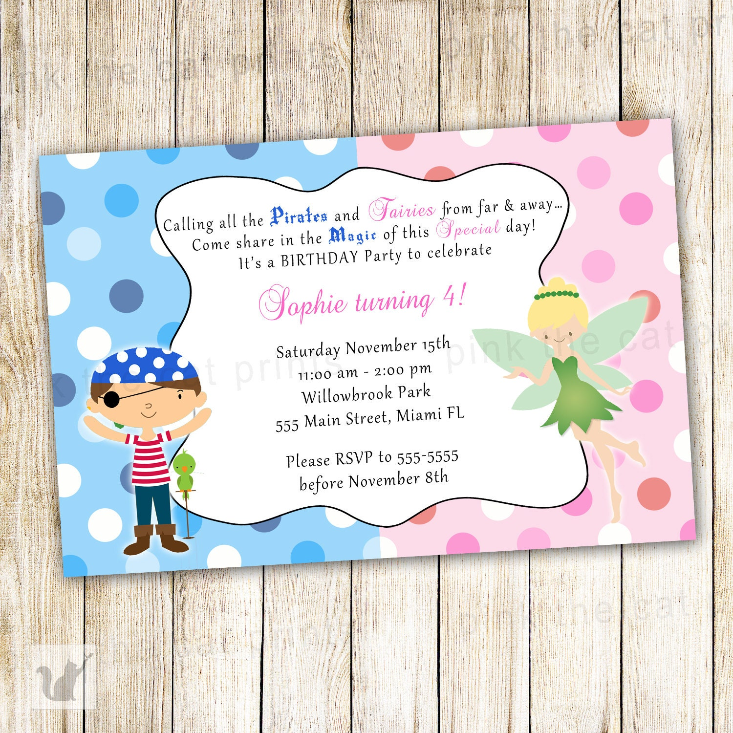 Personalized kids birthday invitations selol ink personalized kids birthday invitations stopboris Image collections